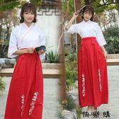 漢服對襟齊胸襦裙繡花仙女裙古風日常服