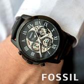 FOSSIL 日月星辰質感時尚機械錶 ME3028 熱賣中!