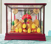 小玻璃黃金帶路雞 帶路雞 起家(雞) 有雞啼聲 結婚 歸寧【皇家結婚百貨】