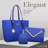 包包2018夏款潮新款女包大包大容量歐美時尚單肩包斜跨包手提包AB7833【Rose中大尺碼】