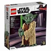 LEGO 樂高 星際大戰 Star Wars系列 Yoda 尤達大師 1771pcs 75255