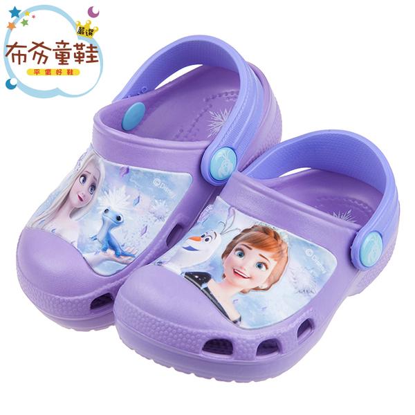 冰雪奇緣紫色布希鞋
