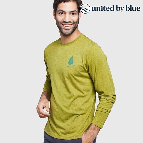 United by Blue 男休閒圓領長袖上衣 101-098 Right To Roam / 城市綠洲 (有機棉、環保、長袖T、美國品牌)