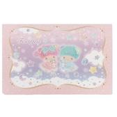 小禮堂 雙子星 橫式生日卡片 祝賀卡 送禮卡 節慶卡 (粉紫 熊熊) 4711717-29333