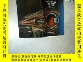 二手書博民逛書店HANDBOOK罕見OF EXTERNAL DISEASES OF THE EYE 眼病手冊 32開 01Y2