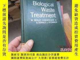 二手書博民逛書店biological罕見waste treatment 精 60
