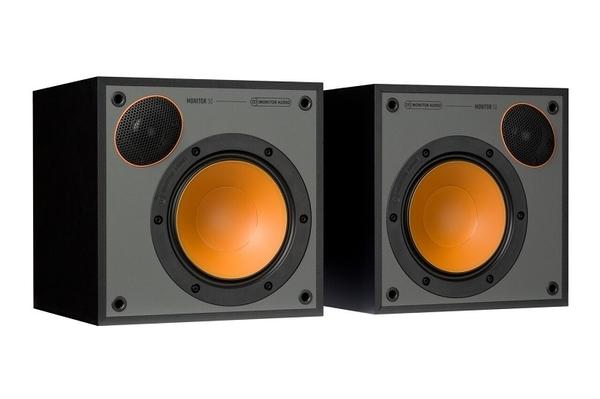 新竹推薦音響店《名展影音》英國 Monitor Audio MONITOR 50 書架喇叭 黑白兩色可選