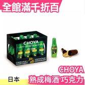 日本 CHOYA 熟成梅酒 巧克力 12入 過年送禮 酒糖 交換禮物 零食小點【小福部屋】