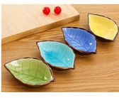 『蕾漫家』【B021】現貨-陶瓷小碟子 日式餐具 醋碟醬油碟 調味碟 骨碟 菜碟 創意小吃盤子