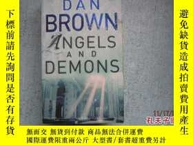 二手書博民逛書店英文原版書罕見DAN BROWN ANGELS AND DEMO