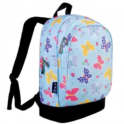 【LoveBBB】美國 Wildkin 兒童後背包/雙層式書包14113蝴蝶花園(5~10歲) 符合CPSIA 標準 無毒
