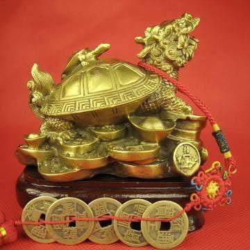 送五帝錢開光 精銅開光龍龜