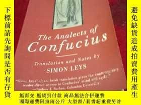 二手書博民逛書店The罕見analects of confuciusY102756 Confucius Confucius
