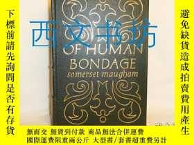 二手書博民逛書店【罕見】Of Human Bondage 人性枷鎖 1977年