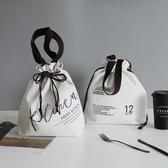 保冷袋--北歐棉帆布保溫冷錫箔便當包便攜手提午餐袋媽咪背包潮人環保  多莉斯