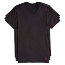 Ralph Lauren 馬球3件組圓領T恤(黑)