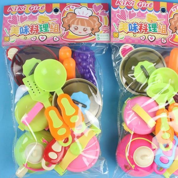 KIKI美味料理組 東匯T991 家家酒餐具廚房組/一袋入{促120}~生ST安全玩具