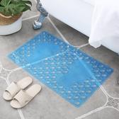 浴室防滑墊鏤空洗澡地墊pvc塑料腳墊衛生間防水墊子【步行者戶外生活館】