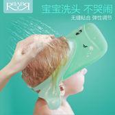 浴帽防水護耳硅膠可調節小孩兒童洗頭帽洗澡