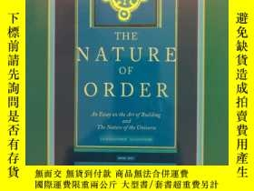 二手書博民逛書店The罕見Nature of Order: Book 1 - The Phenomenon of Life (布面