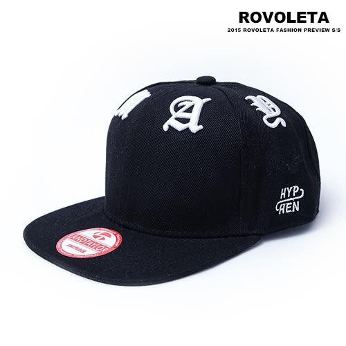 羅馬字體帽【AY-034】(ROVOLETA)