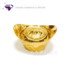 【元大鑽石銀樓】『納福金元寶』黃金元寶 重約10.00錢 純金9999*投資 收藏 保值 送禮 彌月*