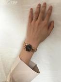 手錶女復古小錶盤文藝百搭氣質鍊條森繫學生女士 手錶伊芙莎
