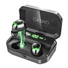 OKIMO【日本代購】最新版 無線耳機LED顯示 Hi-Fi 高音質 IPX7防水標準