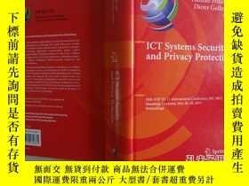 二手書博民逛書店ICT罕見Systems Security and Privac