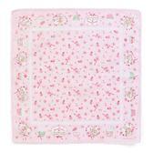Sanrio 兔媽媽杯子蛋糕系列日本製純棉花邊手帕★funbox★_960454