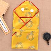 包被-春夏薄款新生兒純棉紅色百福包被寶寶襁褓中國風滿月禮物 鉅惠85折