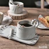 咖啡杯 日式手繪陶瓷馬克杯水杯個性貓咪咖啡杯可愛卡通情侶 nm11285【甜心小妮童裝】