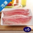 鯛魚腹片400G+-5%/包X6【愛買冷凍】