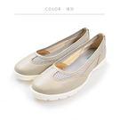 ORWARE-「MIT」真皮.網布輕量休閒鞋 652056-15灰