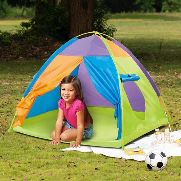兒童帳篷室內外玩具游戲屋公主寶寶過家家女孩摺疊大房子海洋球池 「免運」