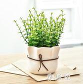仿真植物裝飾北歐綠植室內盆栽客廳擺件假花卉多肉小盆景擺設IP4652【雅居屋】