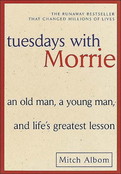 (二手書)Tuesdays with Morrie (Export Ed.)