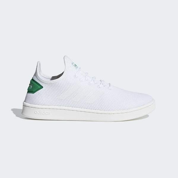 Adidas Court Adapt [F36417] 男鞋 運動 休閒 襪套 簡約 透氣 球鞋 穿搭 愛迪達 白綠