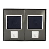Christian Dior 紳士男襪二入禮盒(黑)179190-2