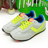 PONY 繽紛韓風復古慢跑鞋 甜蜜糖果盒 SOHO 灰螢綠 42W1SO02GR--女 6折零碼好康