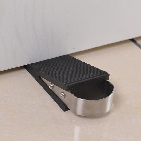 安全門阻安全門擋門楔子防撞免打孔橡膠門阻防風擋門器便捷創意阻門器門頂 台北日光