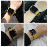 適用蘋果apple watch4表帶iwatch1/2/3手表帶時尚女表帶潮44