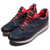 【六折特賣】New Balance 慢跑鞋 Trailbuster Re-Engineered 紅 藍 潑墨 襪套 男鞋【PUMP306】 MFLTBNPD