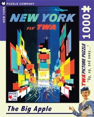 【KANGA GAMES】拼圖 紐約 - 大蘋果 New York - The Big Apple 1000片