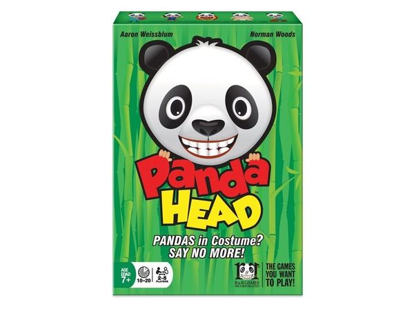【KANGA GAMES】嗜睡熊貓 Panda Head 家庭益智派對桌上遊戲