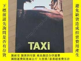 二手書博民逛書店的士速遞罕見1 Taxi 電影場刊 薩米·納塞利 弗瑞德克·迪費