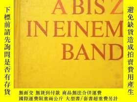 二手書博民逛書店BI罕見LEXIKON ABISZ IN EINEM BANDY207801 出版1982
