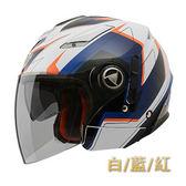 【東門城】THH T-396U #1 雙層鏡片 3/4罩安全帽 內襯可拆 免運