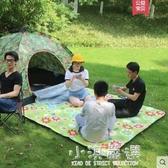 戶外野餐墊防潮墊加絨加厚野炊地墊防水野營墊子帳篷野餐布CY『小淇嚴選』