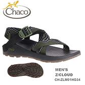 【速捷戶外】美國 Chaco CH-ZLM01HG34 越野紓壓運動涼鞋-標準 男款(軍綠艦隊) Z/CLOUD ,戶外涼鞋
